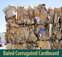 Baled Corrugated Cardboard